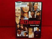 DVD BOX SET DVD GREY'S ANATOMY SEASON ONE